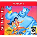 Aladdin 2 for Sega Genesis English