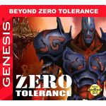 Beyond Zero Tolerance Sega Genesis Reproduction