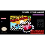 Grumps Dream Course Super Nintendo SNES English