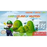 Luigi and the Island of Mystery Super Nintendo SNES Reproduction