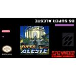BS Super Aleste SNES English Super Nintendo