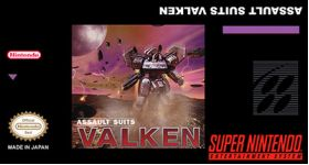 Assault Suits Valken Super Nintendo SNES English