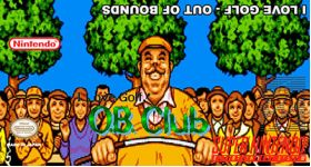 I Love Golf!  Out of Bounds Super Nintendo SNES English