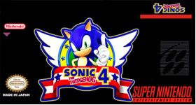 Sonic 4 Super Nintendo SNES English