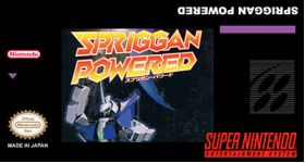 Spriggan Powered Super Nintendo SNES English