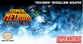 Super Metroid Arrival Super Nintendo SNES English