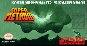 Super Metroid Cliffhanger Redux Super Nintendo SNES English