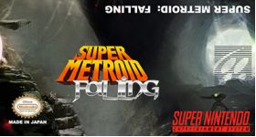 Super Metroid Falling Super Nintendo SNES English