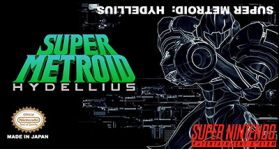 Super Metroid Hydellius Super Nintendo SNES English