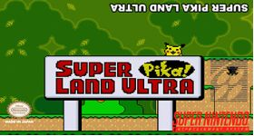 Super Pika Land Ultra Super Nintendo SNES English