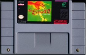 Lennus II for the SNES in English