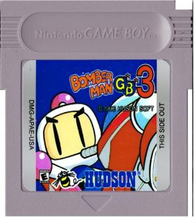 Bomber Man GB 3 English Game Boy