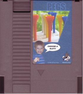 Pegs by Sly Dog Studios for NES