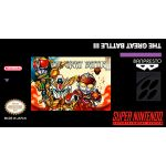 Great Battle III Super Nintendo SNES English