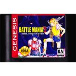 Battle Mania 2:  Trouble Shooter Vintage for the Genesis in English